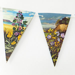 Flower Bunting - bunting & garlands
