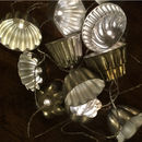Vintage Jelly Mould Lights