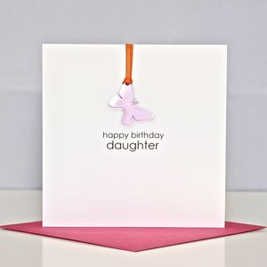 'Happy Birthday Daughter' Greeting Card