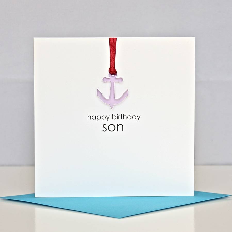 Happy birthday son greeting card by the cornish card company happy birthday son greeting card bookmarktalkfo Gallery