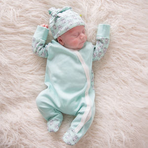 Forest Fox Unisex Sleepsuit - new baby gifts