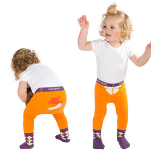'Fox Socks' Baby Tights