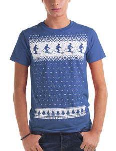 Mens Winter Ski T Shirt