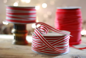 Christmas Ribbon - finishing touches