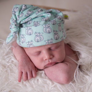 Forest Fox Knot Baby Hat