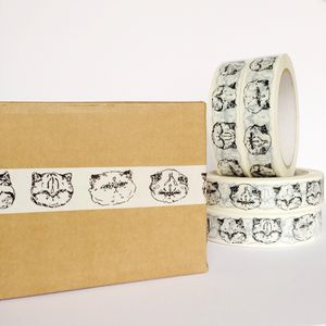 Kitty Sticky Tape - ribbon & wrap