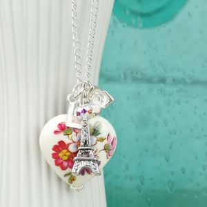 Handmade Heart And Charm Necklace - necklaces & pendants