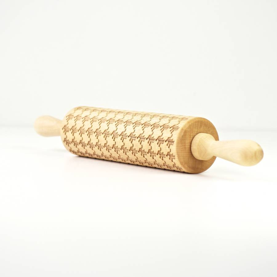 Cat Lovers Embossing Rolling Pin