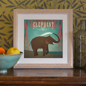 'Elephant' Art Print - posters & prints