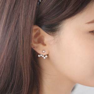 Starburst Two Way Earrings - women's jewellery