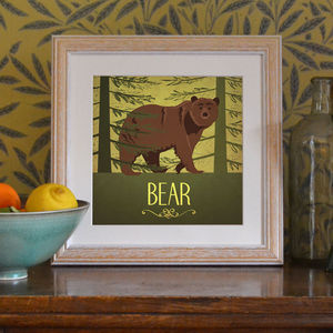 'Bear' Art Print - shop by price