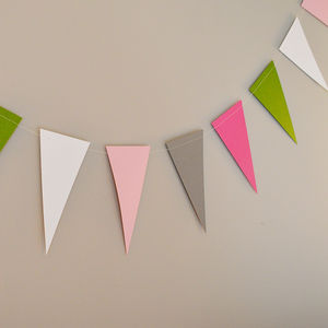 Garden Fairy Paper Bunting - decorative accessories