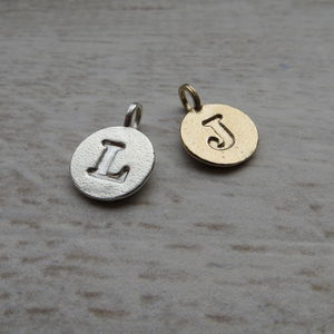 Letter Charms - women's jewellery