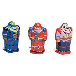 Retro Style Wind Up Tin Robot - baby & child sale