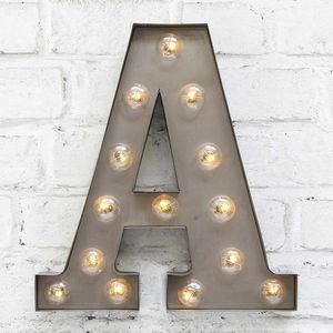 'A' LED Carnival Light - decorative accessories