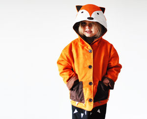 Fox Coat For Children - woodland trend