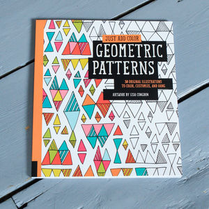Geometric Patterns Colouring In For Grown Ups - craft-lover