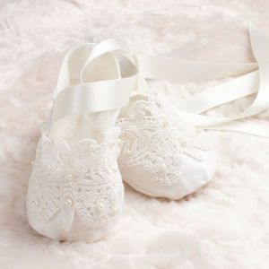Christening Booties 'Ariana'