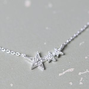 Delicate Shooting Star Necklace
