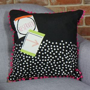 'Note To Self' Reserved Cushion