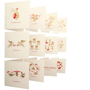 'Twelve Days Of Christmas' Card Collection