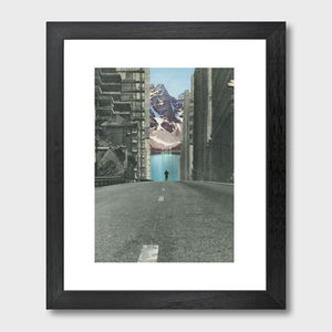 Into The Wild Art Print - modern & abstract