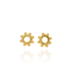 Casia Stud Earrings Gold