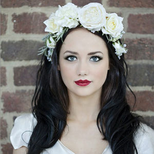 Freya Flower Crown Headband