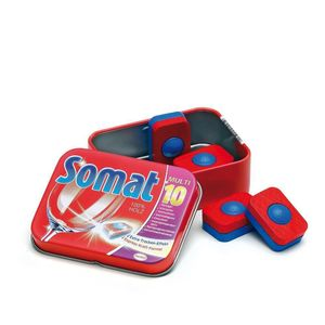Tin Of Wooden Somat Dishwasher Tablets Toy - play scenes