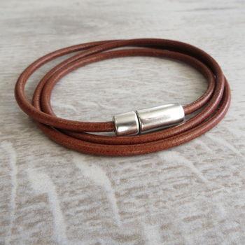 Leather Stanley Bracelet