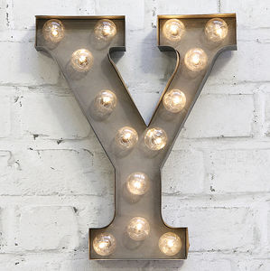 'Y' LED Carnival Light - decorative accessories
