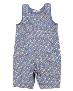 Floral Twill Printed Dungarees - clothing