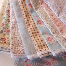 Set Of Six Cotton Napkins