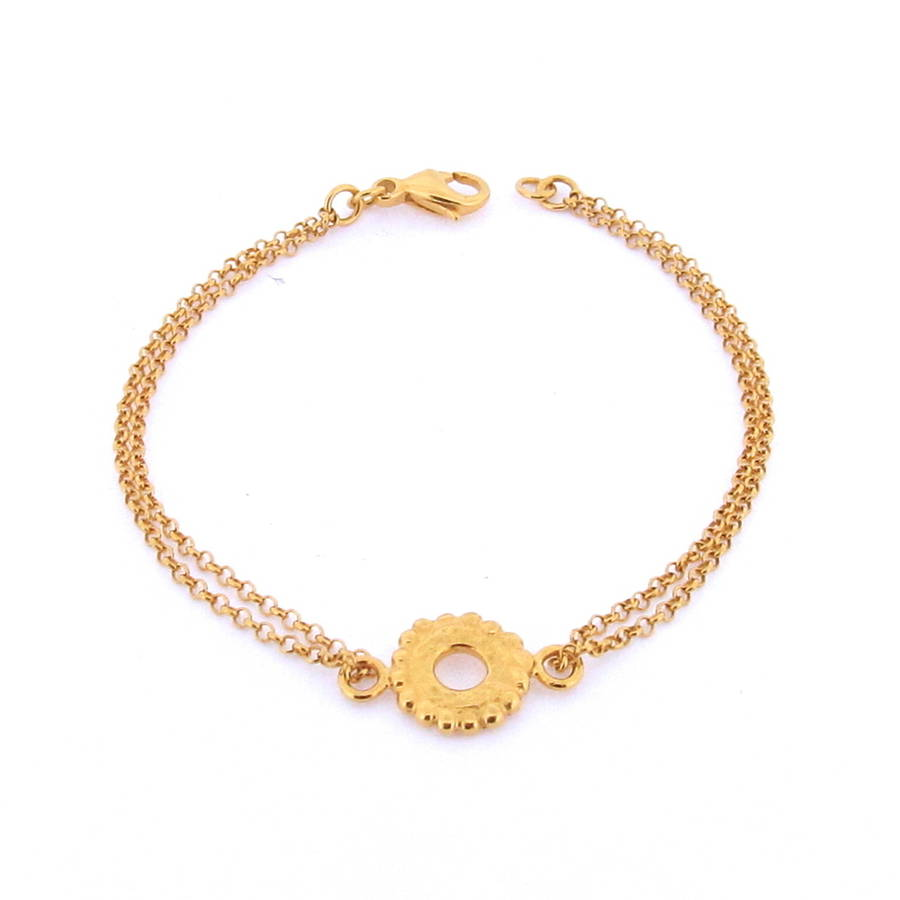 Dianthe Bracelet Fully Gold