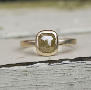 Rose Cut Diamond Ring - less ordinary diamonds
