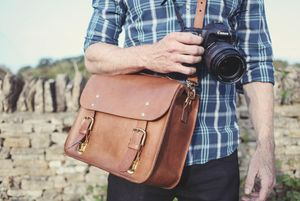Hanborough Leather Camera Bag