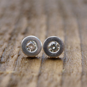 Moissanite Earrings - gemstone earrings