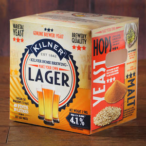 Brew Your Own Lager Beer Kit - gifts for foodies