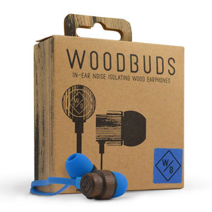 Eco Friendly Wood Earphones - for gadget-lovers
