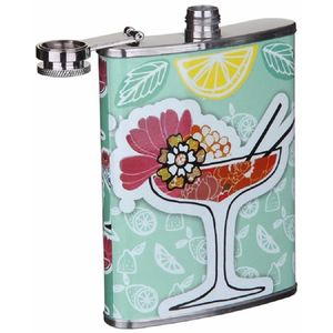 Vintage Style Carnaby Hip Flask