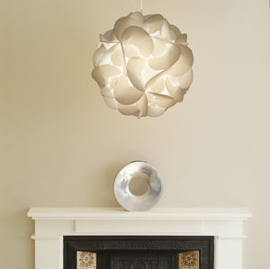 Curve Decorative Light Shade - lamp bases & shades