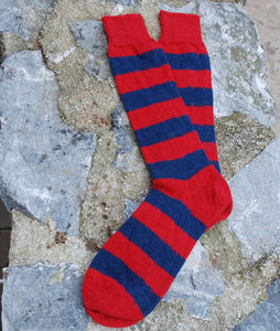 Stripy Alpaca Sunday Socks - socks