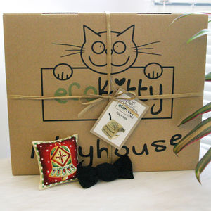 Christmas Catnip Hamper For Cats - gifts for your pet