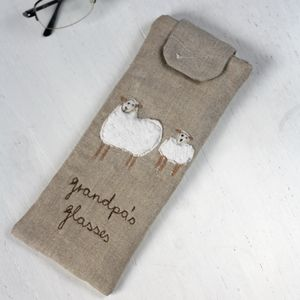 Personalised Glasses Case Sheep