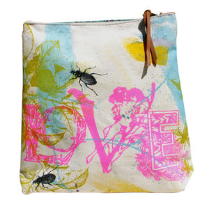 Canvas Wash Bag And Make Up Carry All - beauty gifts