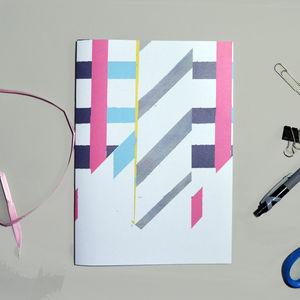 Industrial Pop Pattern A5 Recycled Notebook - view all sale items