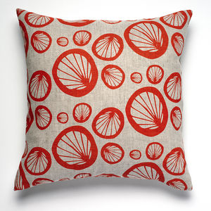 Sycamore Linen Cushion Cover - patterned cushions