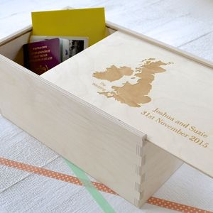 Destination Keepsake Box - frequent traveller