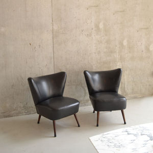 Pair Of 1960'S Original French Cocktail Chairs