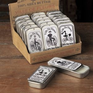 Shea Butter In Sliding Tin - unusual favours